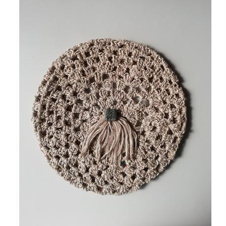 Linen Beret (リネンのベレー帽)