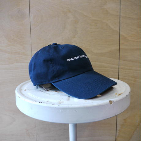 seesaw cap navy (white embroidery)