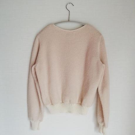 X Sweater White (バツセーター白)
