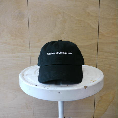 seesaw cap black (white embroidery)