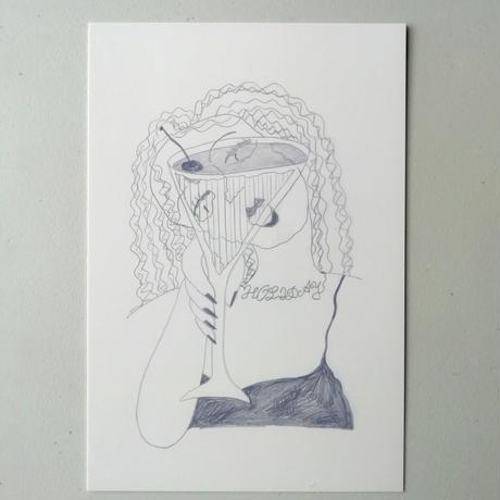 post card『カンパーイ』1枚
