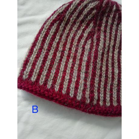 Stripe Beanie (サーカス団の帽子)