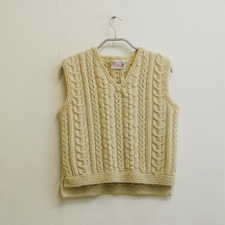 Hand Knitted Vest (ベスト)