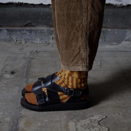 """靴下 """"itchy feet"""" -Yellow"""