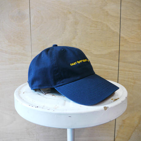 seesaw cap navy (yellow embroidery)