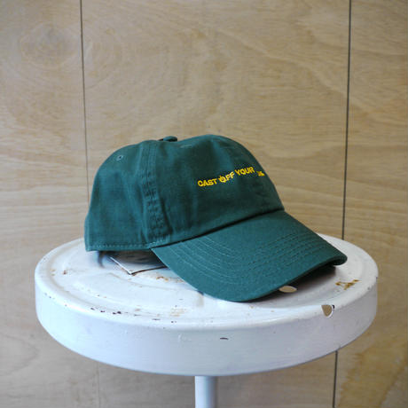 seesaw cap green(yellow embroidery)