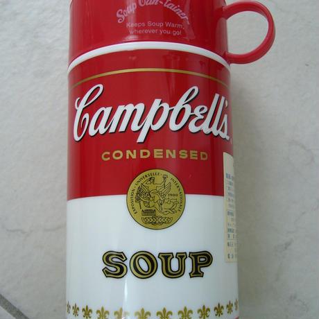 レトロ★Campbell's Soup★プラスチック製★サーモ水筒