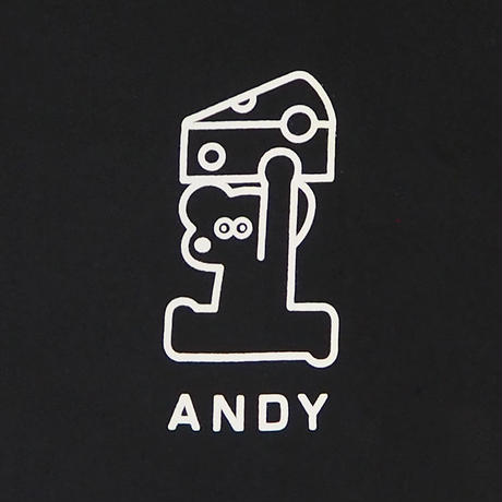 T-SHIRT - ANDY & CHEESE / Black