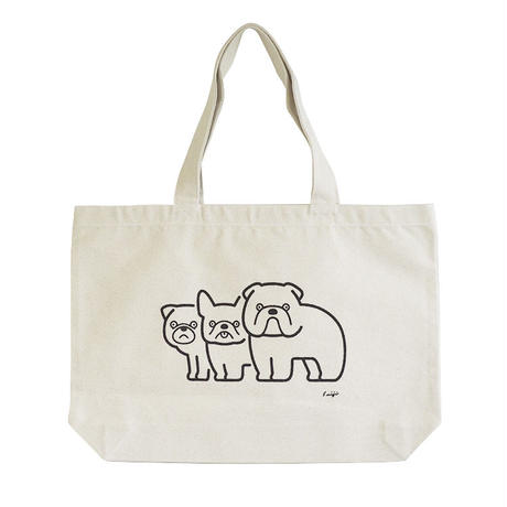 TOTE BAG - Flat nosed Dogs