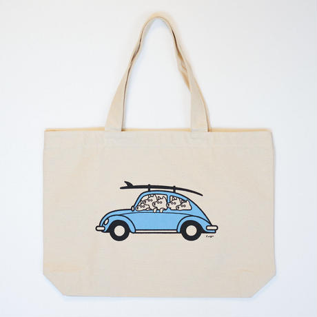 TOTE BAG - Let's go Surfing