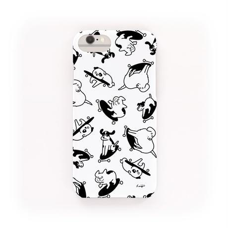 i phone case - Skate boarding dogs