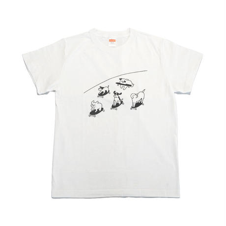 T-SHIRT - Skateboarding Dogs