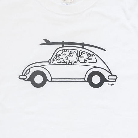 T-SHIRT - Let's go Surfing
