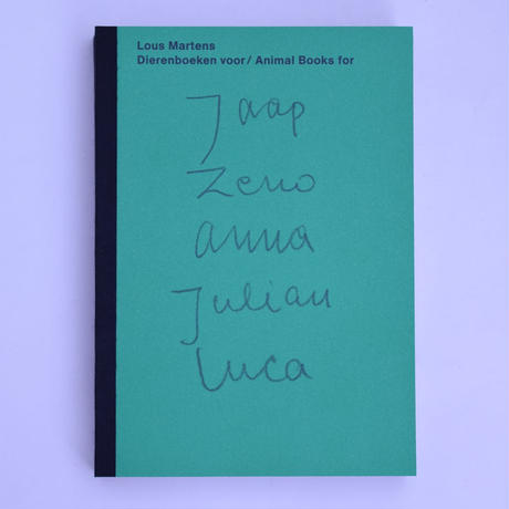 Animal Books For Jaap Zeno Anna Julian Luca