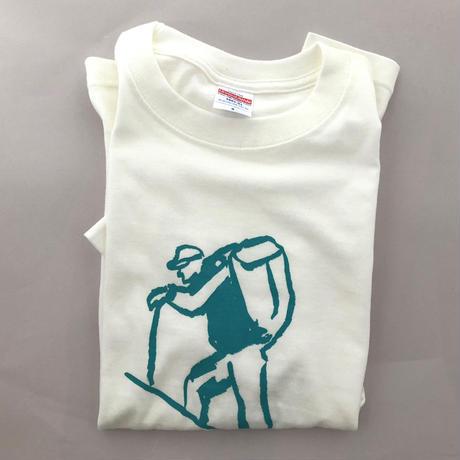 マメイケダTシャツ「登山者」