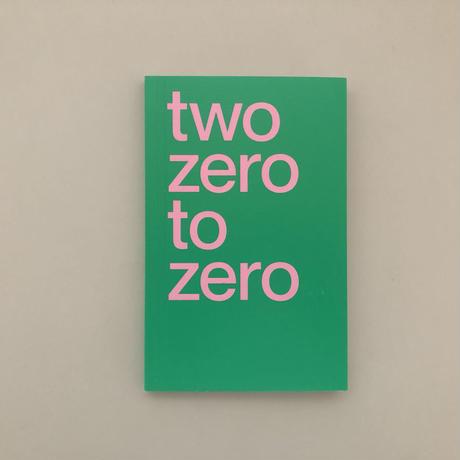 Two Zero To Zero 2020 Diary