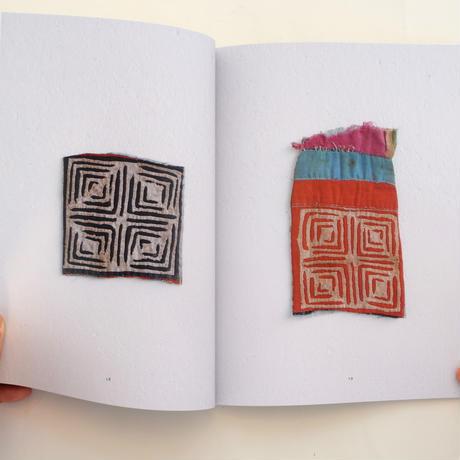 モン族の襟布
