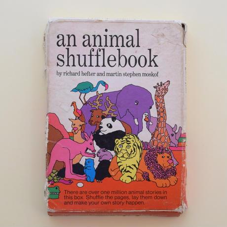 an animal shuffle book