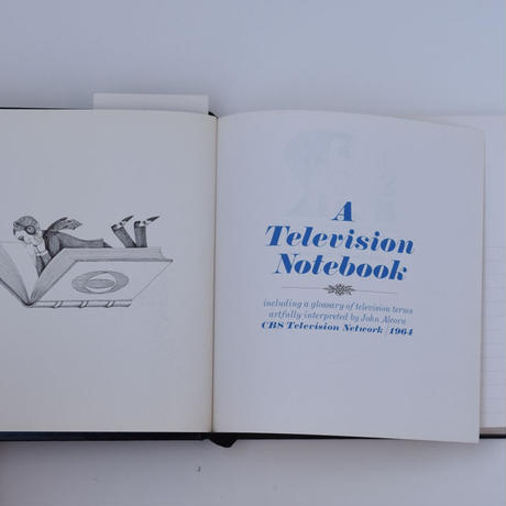 CBS Television Network Notebook 1964