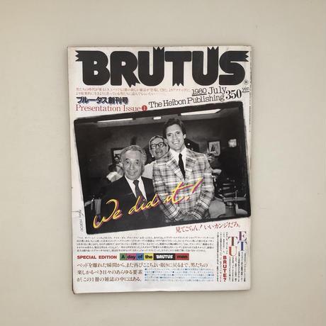 BRUTUS 創刊号