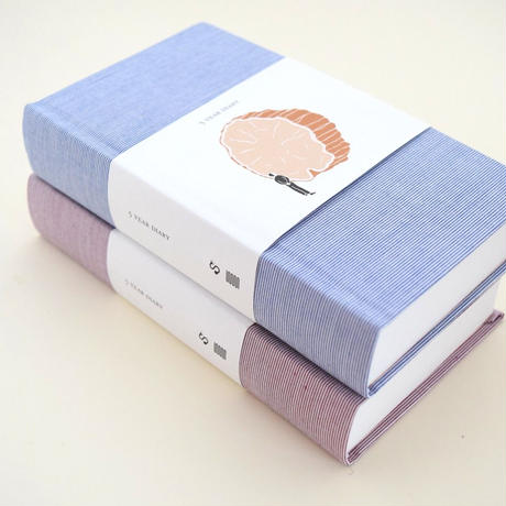5 YEAR DIARY BLUE COVER