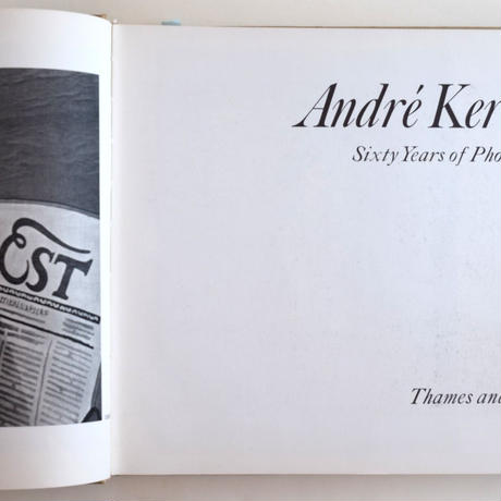 Andre Kertesz Sixty Years of Photography