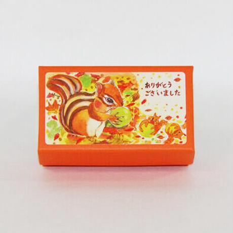 小箱10個セット・幸せの実(ありがとうございました) チョコくるみクッキー