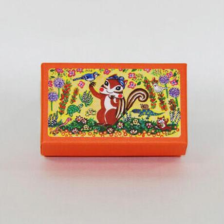 小箱10個セット・紺色のターバン(ムジ) チョコくるみクッキー