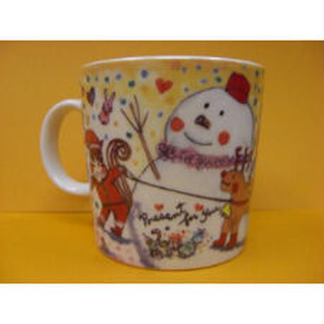 マグカップ(かわいい雪だるま)