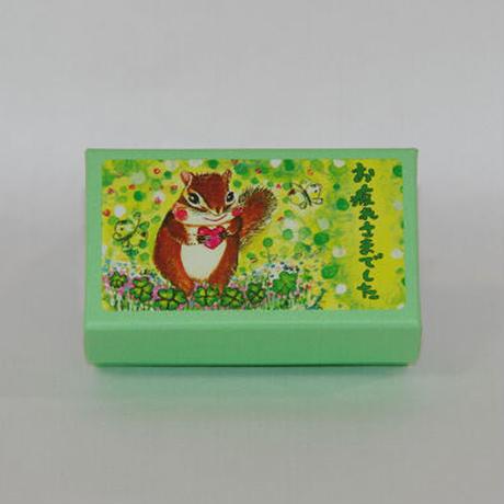 小箱10個セット・緑の中(お疲れさまでした) チョコくるみクッキー