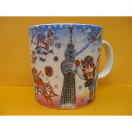マグカップ(下町東京風景)
