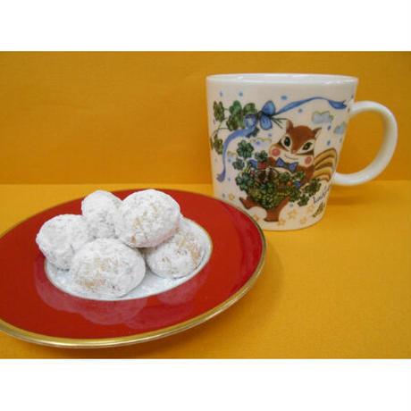 マグカップ・くるみのクッキーセット(木の実かご)