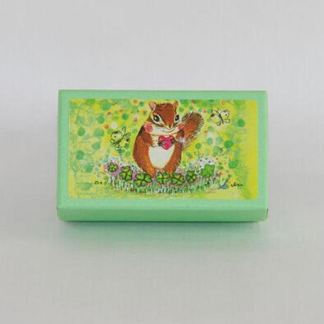 小箱10個セット・緑の中(ムジ) チョコくるみクッキー