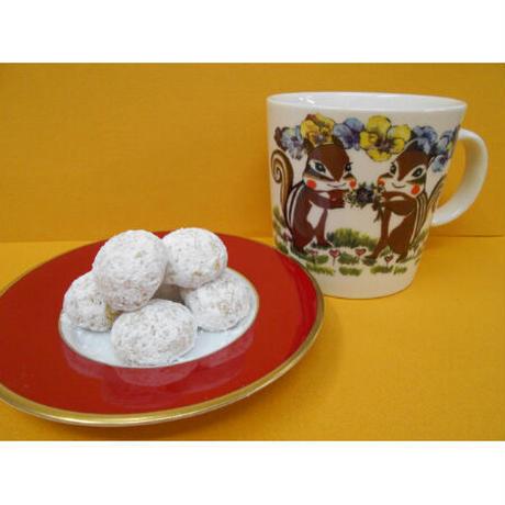 マグカップ・くるみのクッキーセット(パンジー)