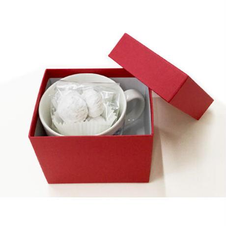 マグカップ・くるみのクッキーセット(サンタのプレゼント)