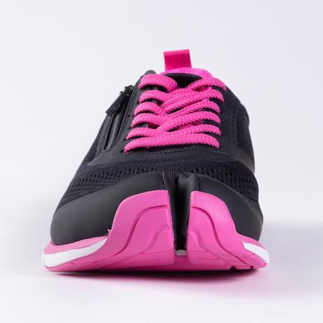 ラフィート 足を科学する足袋シューズ 特別セット(ブラック/ピンク)