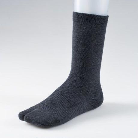 足袋型サポート靴下 レギュラー丈 ブラック【MEN】