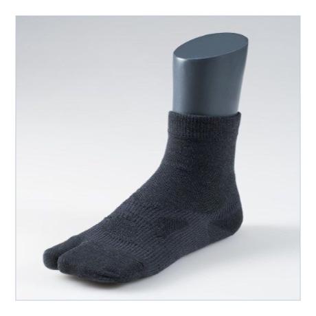 足袋型サポート靴下 ショート丈【MEN】