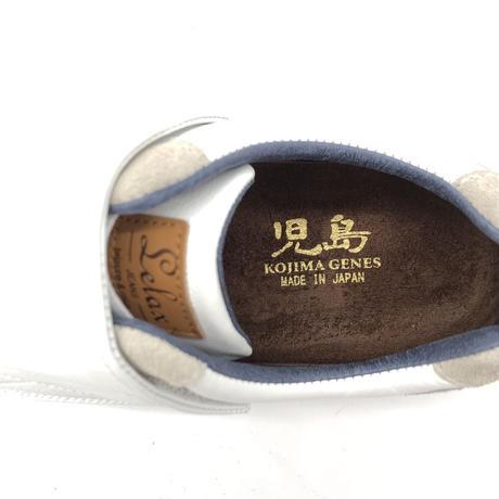 【児島ジーンズ】白牛革足袋スニーカー(LX8005)
