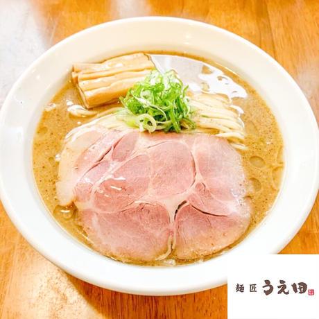 【コラボ商品×冷凍便】麺匠うえ田 濃厚魚介豚骨らーめんセット