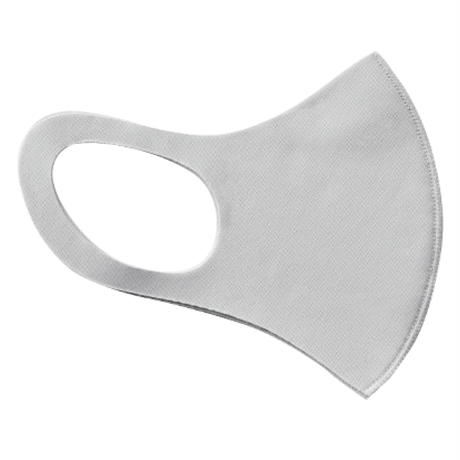 【グレー×黒】オリジナルLOGO入りパステルマスク(フリーサイズ)