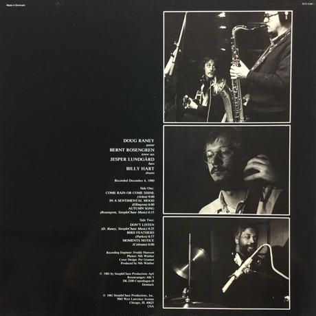 Doug Raney Quartet-Listen