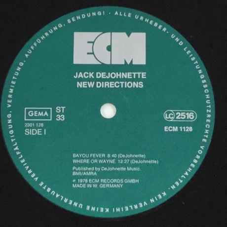 Jack DeJohnette-New Directions