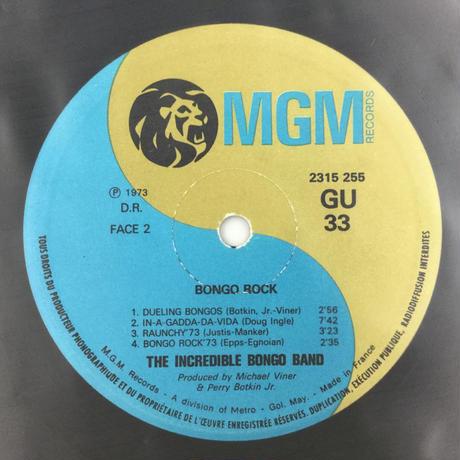 Michael Viner's Incredible Bongo Band-Bongo Rock