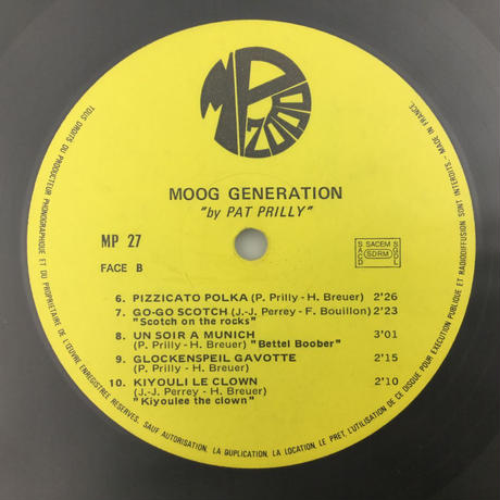 Pat Prilly-MOOG GENERATION