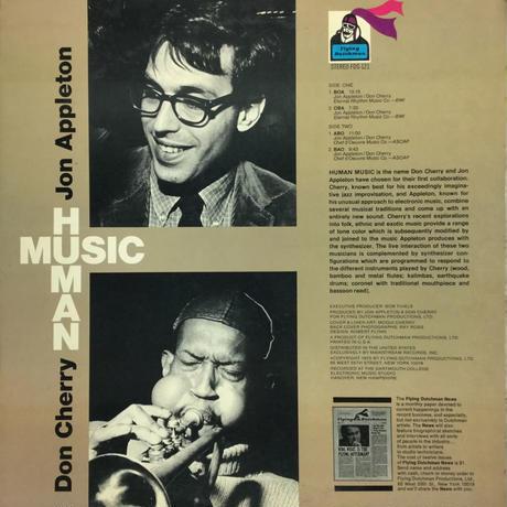 Jon Appleton & Don Cherry-Human Music