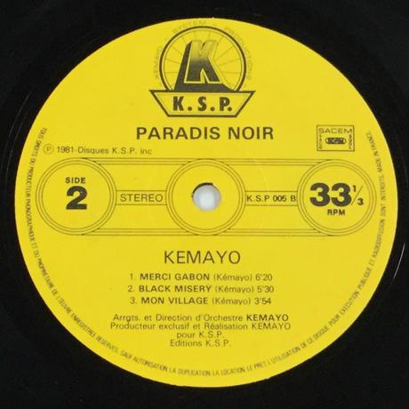 Kemayo-Paradis Noir