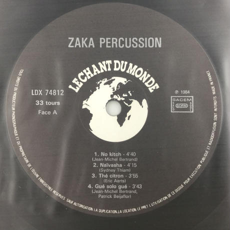Zaka Percussion-Lagos