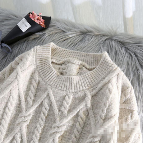 cable wide knit