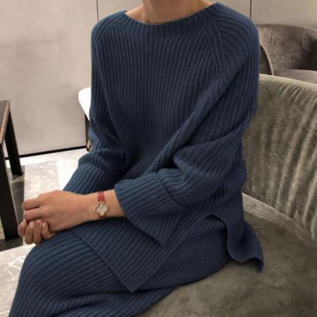 simple knit set up